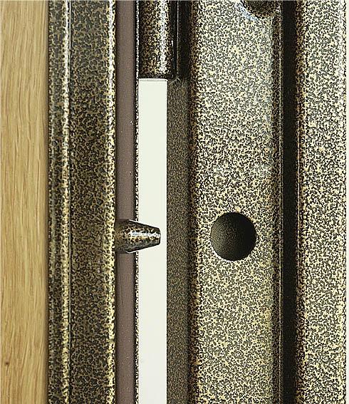 цвета металлического профиля в двери
